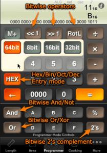 Calc 0x0 interface